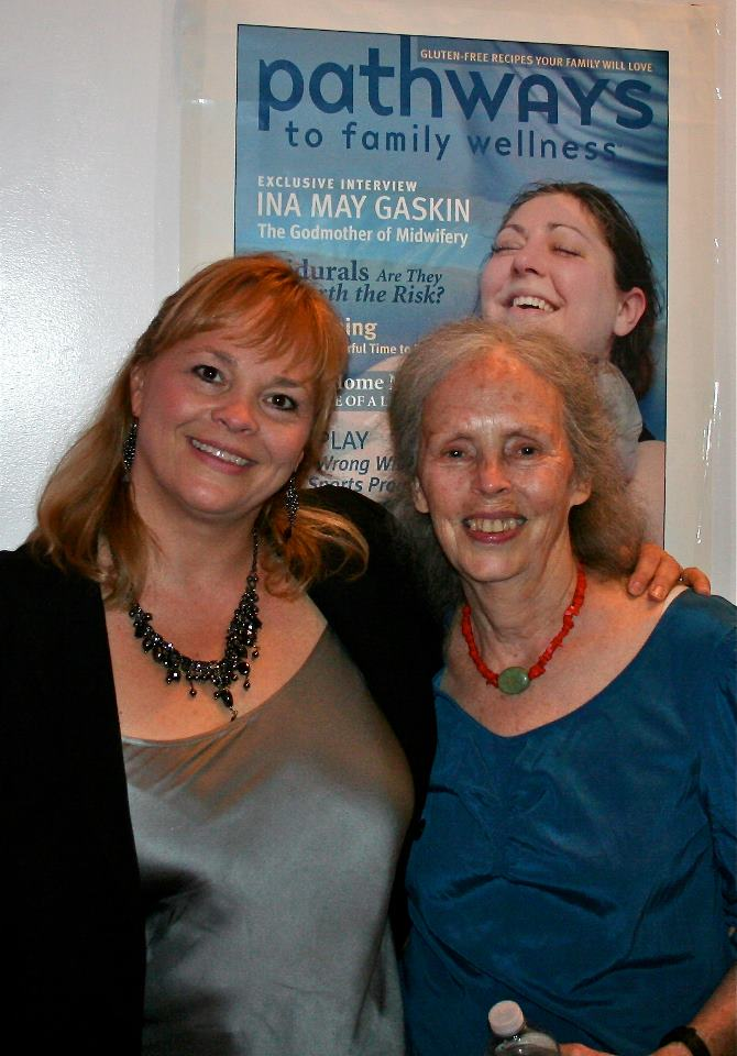 Lisa Reagan and Ina May Gaskin