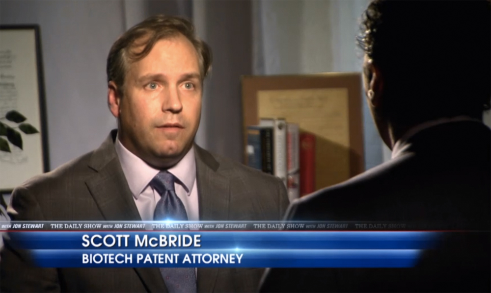 Daily-Show-Aasif-Mandvi-Monsanto-Biotech-Patent-Lawyers
