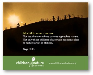 VISIT THE CHILD AND NATURE NETWORK, CNN
