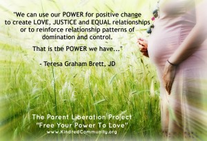JOIN THE PARENT LIBERATION PROJECT!