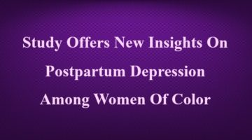 Kindred Women of Color PPD Study