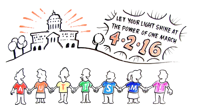World Autism Awareness Day March - 2016, Washington, D.C. ...