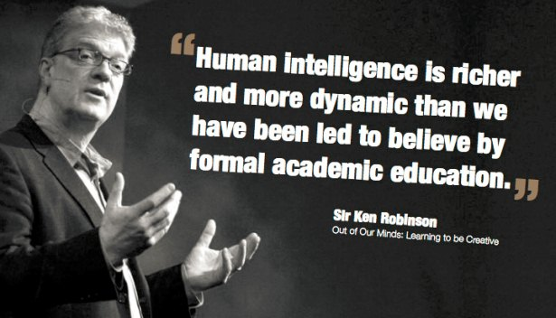 sir ken robinson education kills creativity Sir ken robinson: do schools kill creativity tedtalks youtube video summary by james r martin,  our education system's view of mistakes changes us, so that by.